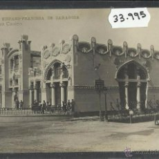 Postales: ZARAGOZA - EXPOSICION HISPANO FRANCESA - 5 - GRAN CASINO - FOTOGRAFICA COYNE - (33995). Lote 50653015