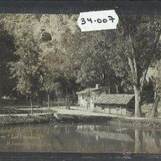 Postales: MONASTERIO DE PIEDRA - 9 - LAS PESQUERAS - FOTOGRAFICA M. RAMOS Y COBOS - (34007). Lote 50653258