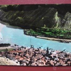Postales: MEQUINENZA,VISTA PARCIAL DESDE EL CASTILLO,FOTO CABALLE Nº9.. Lote 50676866