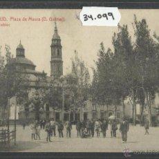 Postales: CALATAYUD - PLAZA DE MAURA - THOMAS - (34099). Lote 50690831