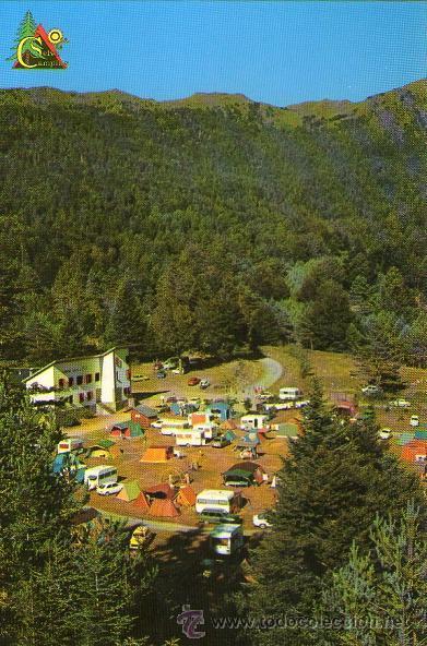 hecho - camping selva de oza - comprar postales de aragón en
