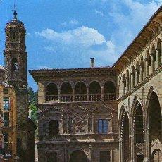 Postales: ALCAÑIZ - 1 PALACIO MUNICIPAL Y LONJA. Lote 51378483