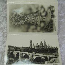 Postales: DESPLEGABLE DE 10 POSTALES DE ZARAGOZA - AÑOS 40 - EDICIONES ARRIBA. Lote 51474134
