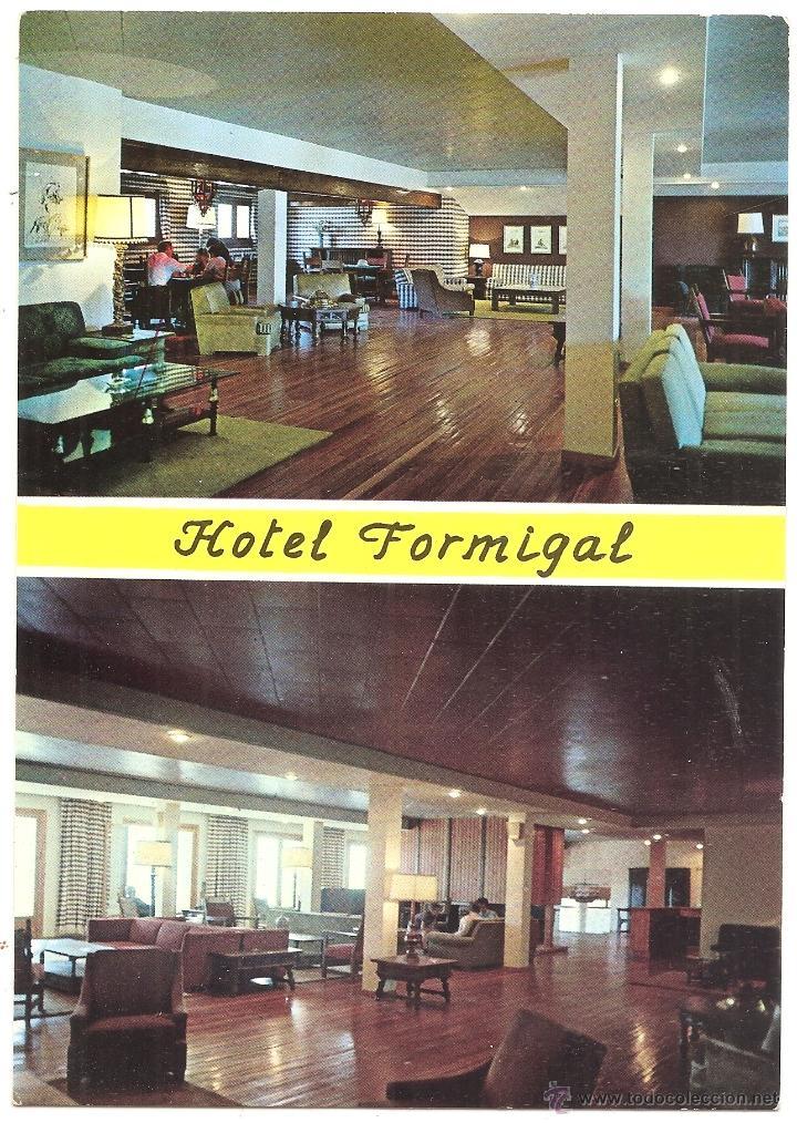 SALLENT DE GÁLLEGO. HOTEL FORMIGAL (Postales - España - Aragón Moderna (desde 1.940))