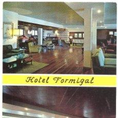 Postales: SALLENT DE GÁLLEGO. HOTEL FORMIGAL. Lote 51512108