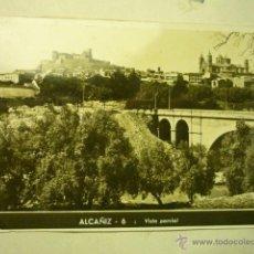Postales: POSTAL ALCAÑIZ 6- VISTA PARCIAL BB. Lote 51773374