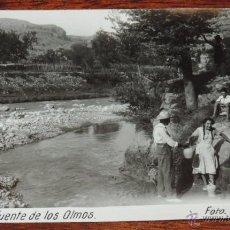 Postales: FOTO POSTAL DE OLBA (TERUEL) FUENTE DE LOS OLMOS, FOTO JACINTO V., SIN CIRCULAR. Lote 51784128