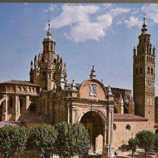Postales: POSTAL, TARAZONA, FACHADA CATEDRAL, SIGLO XIII, MUDEJAR. Lote 51889346