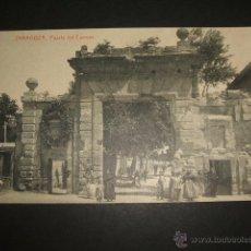 Postales: ZARAGOZA PUERTA DEL CARMEN. Lote 51891925