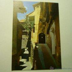 Postales: POSTAL ALBARRACIN-RINCON TIPICO Y PORTAL MOLINA. Lote 52165830