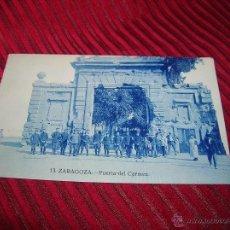 Postales: ANTIGUA POSTAL DE ZARAGOZA.PUERTA DEL CARMEN. Lote 52378612