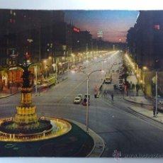 Postales: POSTAL. ZARAGOZA. PASEO DE LA INDEPENDENCIA. 1963. Lote 52515517