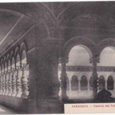 Postales: P- 33103. POSTAL ZARAGOZA. GALERIA DEL PALACIO DE MUSEOS. COLECCION M.A.. Lote 52526970