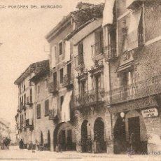 Postales: JACA Nº 3 PORCHES DEL MARCADO COLECCIÓN BERITENSY J. LACASA Y Hº SIN CIRCULAR. Lote 52597717