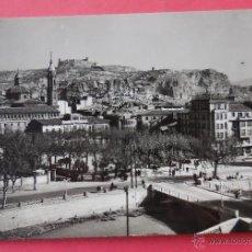 Postales: CALATAYUD, ZARAGOZA. VISTA PARCIAL, AL FONDO EL CASTILLO.. Lote 52690208