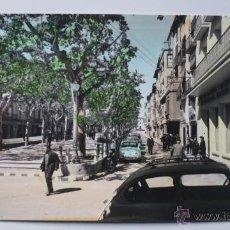 Postales: BARBASTRO. PASEO DEL GENERALISIMO. EDICIONES PARIS. J.M. ZARAGOZA. Lote 52729698