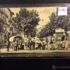 Postales: BARBASTRO - PASEO DEL COSO - (38865). Lote 52868273