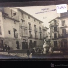 Postales: CASPE - PLAZA SOBERANIA NACIONAL - FOTOGRAFICA SELLO EN SECO ROISIN - (38868). Lote 52868356