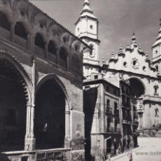 Postales: ALCAÑIZ Nº 1 LONJA Y FACHADA PRINCIPAL DE LA IGLESIA SIN CIRCULAR FOTO EDICIONES SICILIA . Lote 52888784