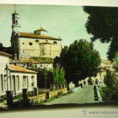 Postales: POSTAL COLOREADA ORIHUELA DEL TREMEDAL - VISTA PARCIAL AL FONDO IGLESIA SAN MILLAN. Lote 52950448