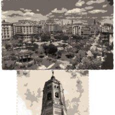 Postales: ZARAGOZA. POSTAL DE GARCIA GARRABELLA Y CALATAYUD (EDICIONES SICILIA). Lote 52960010