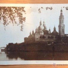 Postales: ANTIGUA POSTAL \ BASÍLICA DEL PILAR (ZARAGOZA). Lote 53144320