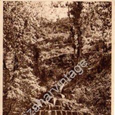 Postales: ANTIGUA POSTAL DE JARABA (ZARAGOZA), BAÑOS DEL SERÓN, LA CASCADA, FOTO MARÍN CHIVITE, ESCRITA 1941. Lote 53221370