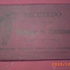 Postales: RECUERDO BALNEARIO DE PANTICOSA-COLECCIÓN DE 12 POSTALES-CLICHÉS ARRIBAS ESDITOR- VER FOTOS-. Lote 53247943