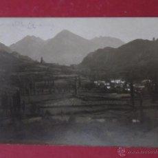 Postales: TARJETA POSTAL FOTOGRAFICA DE TRAMACASTILLA.VALLE DE TENA. CIRCULADA 1924.. Lote 53304033