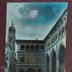 Postales: ALCAÑIZ. PALACIO MUNICIPAL. LONJA. (ED. SICILIA Nº32).. Lote 53353176
