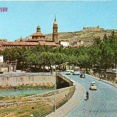 Postales: CALATAYUD - 531 VISTA PARCIAL, AL FONDO EL CASTILLO. Lote 53489301