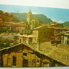 Postales: POSTAL ALBARRACIN VISTA PARCIAL TORRE CATEDRAL. Lote 53574028
