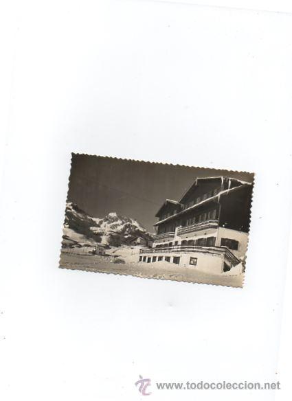 POSTAL DE CANFRANC ...CANDANCHU Nª101 VISTA GENERAL DE HOTELES (Postales - España - Aragón Moderna (desde 1.940))