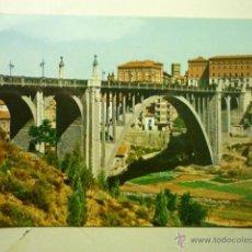Postales: POSTAL TERUEL VIADUCTO CALVO SOTELO. Lote 53684561