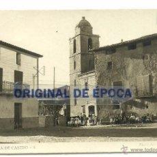 Postales: (PS-47282)POSTAL DE LA PUEBLA DE CASTRO-PLAZA DE LA CRUZ. Lote 53762573