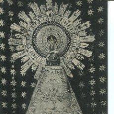 Postales: ZARAGOZA-Nª Sª DEL PILAR-1911-VER MANTO -RARA. Lote 53770688