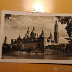 Postales - ZARAGOZA - TEMPLO DEL PILAR FACHADA POSTERIOR - 34 GARCIA GARRABELLA - 53814970