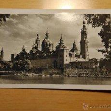 Postales - ZARAGOZA - TEMPLO DEL PILAR FACHADA POSTERIOR - 34 GARCIA GARRABELLA - 53815050