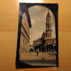 Postales - POSTAL COLOREADA DE ZARAGOZA - CATEDRAL DE LA SEO - 40 ED SICILIA - 53815346