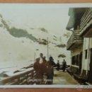 Postales: CANDANCHU. HUESCA. TERRAZA DEL HOTEL. CIRCULADA 1939.. Lote 53978874