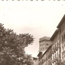 Postales: TERUEL Nº 46 PASEO GENERALISIMO SICILIA CIRCULADA EN 1959. Lote 54009956