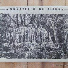 Postales: CARPETILLA , TIRA , BLOC , DE 10 POSTALES MONASTERIO DE PIEDRA. Lote 54163632