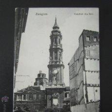 Postales: POSTAL ZARAGOZA. CATEDRAL DE LA SEO. . Lote 54197938