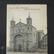Postales: POSTAL ZARAGOZA. IGLESIA DE SANTA ENGRACIA. . Lote 54198696
