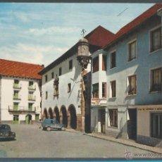 Postales: BIELSA - PLAZA MAYOR Y AYUNTAMIENTO - P13569. Lote 54236146