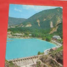 Postales: ARGUIS (HUESCA - PANTANO - IND. PAPEL. OSCENSE Nº 103 - AÑO 1972. Lote 54292095
