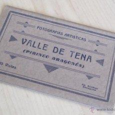 Postales: VALLE DE TENA - PIRINEO ARAGONÉS - BLOC CON 7 POSTALES. Lote 54339608