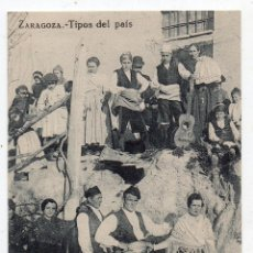 Postales: ZARAGOZA. TIPOS DEL PAÍS.. Lote 54561575