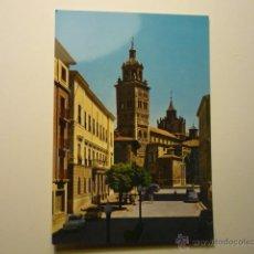 Postales: POSTAL TERUEL - PL.AYUNTAMIENTO Y CATEDRAL. Lote 54569287