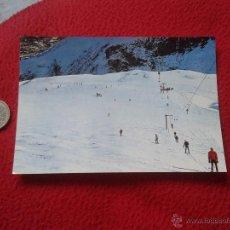 Postales: TARJETA POSTAL POST CARD Nº 238 B ALTO ARAGÓN HUESCA PANTICOSA PISTA DE ESQUÍ ARRIBAS. ESCRITA VER F. Lote 54587632